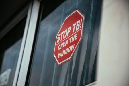 STOP TB! Open a window, Childrens clinic in Khayelitsha.