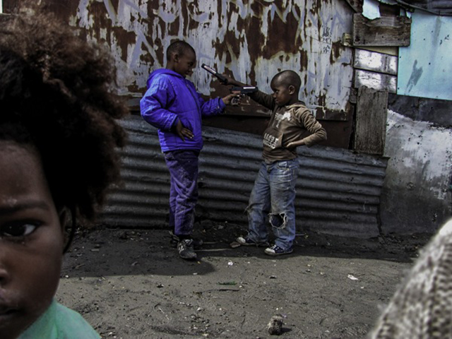 "Langa Township, where I grew up, was one of those townships. The high levels of unemployment and the poverty led to violence and inequality in the community. As a young person I was witnessing it all right in front of me, even my neighbours had guns, knives and illegal weapons. Almost every teenager during early 2000 was part of gangsterism in some way or was in prison for some crime they committed. Friday & Saturday nights murders were the norm. It was not a safe township. Photograph by Sipho Mpongo from the ""Twenty Journey Project"" - www.twentyjourney.com"